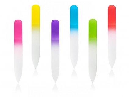 Pilník skleněný barevný malý