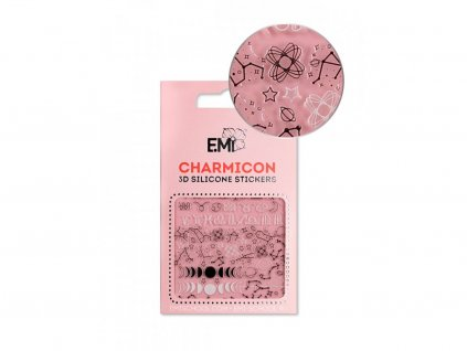 5714 charmicon 3d silicone stickers 126 constellations