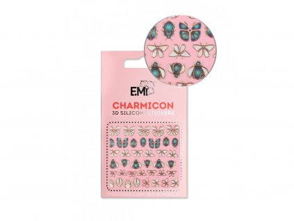6077 charmicon 3d silicone stickers 135 insects