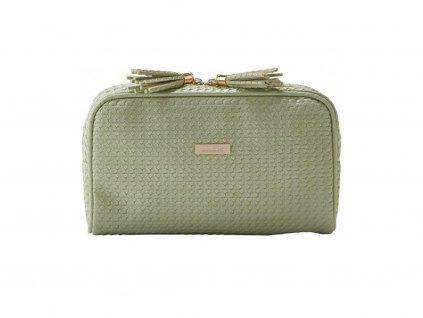 Kosmetická kabelka PALM zelená malá 61364