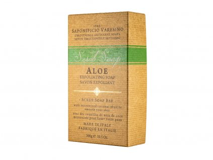 aloe exfoliant soap 300