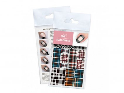 6350 1 naildress slider design 61 tartan