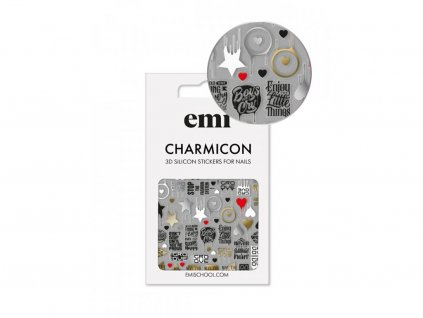 Charmicon 3D Silicone Stickers #168 Badges