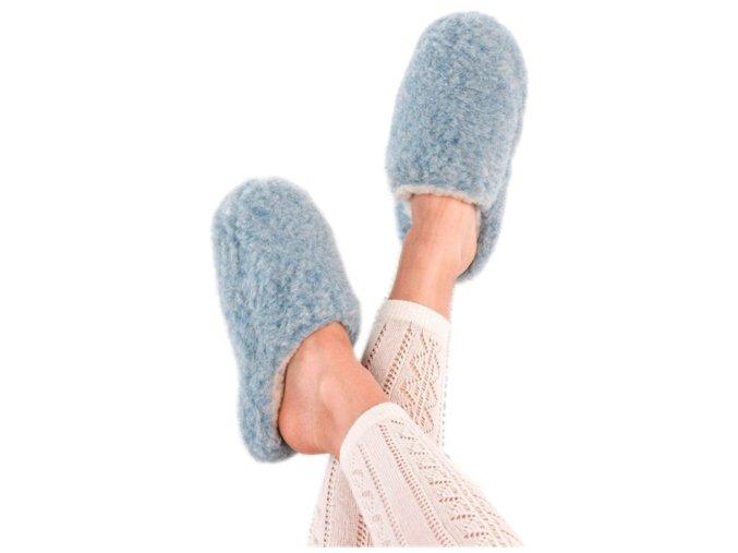 papuce modre