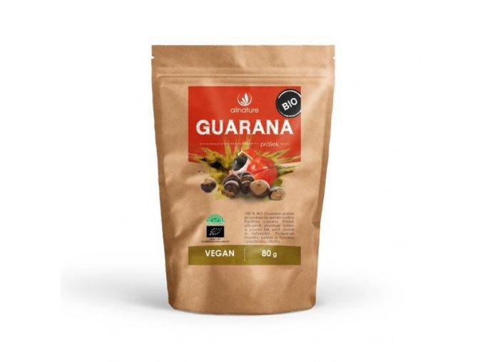 allnature guarana prasek bio 80 g
