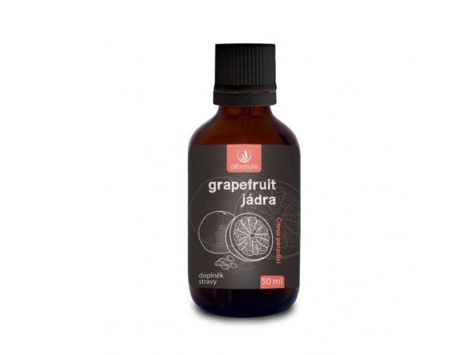 allnature grapefruit jadra kapky 50 ml