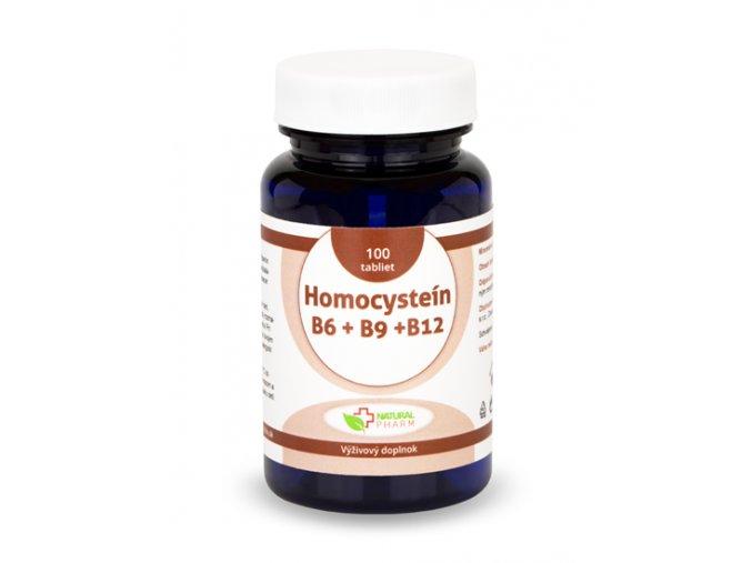 homocystein b6 b9 b12 tablety 100ks