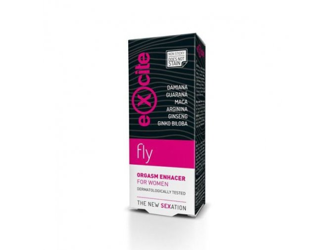 diet esthetic stimulujici gel pro zeny excite woman fly 15 ml