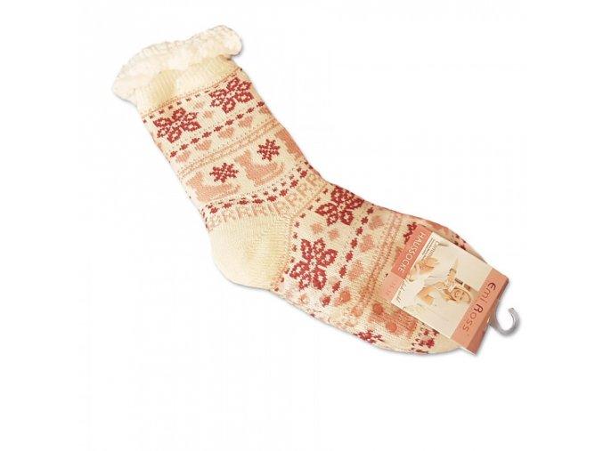 Ponozky biele