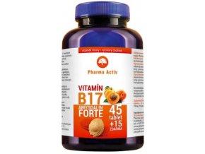 Vitamín B17 Amygdalin FORTE 60 tbl., EAN 8586019020489