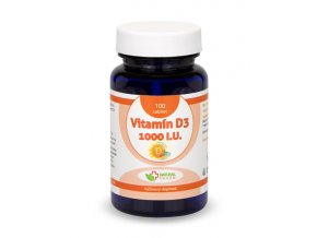 vitamin d3 1000 iu tablety 100 ks 550