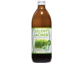 zeleny jacmen