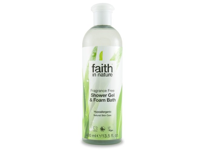 Faith in Nature Sprchový gel Bez parfemace 400 ml
