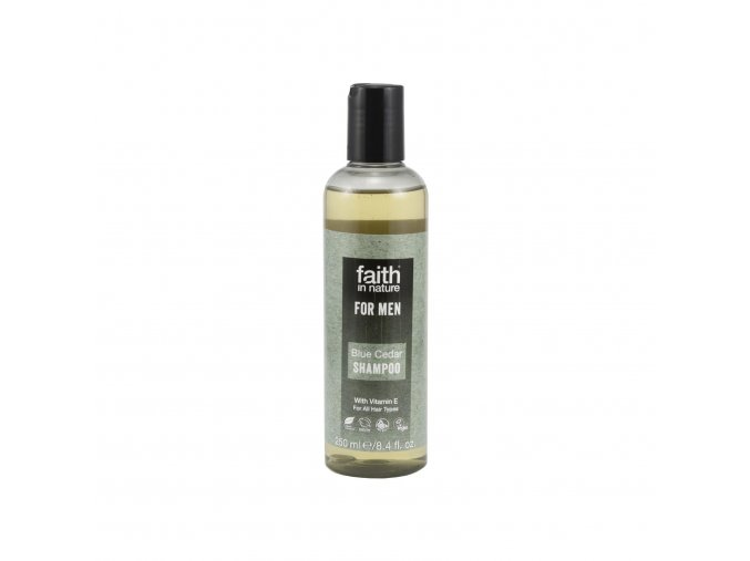 Faith in Nature Šampon Modrý cedr, Faith for men 250 ml
