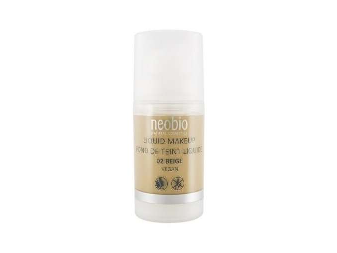 Neobio Liquid Make up 02 Beige 30 ml