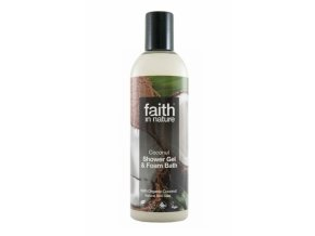 Faith in Nature Sprchový gel Kokos 250 ml