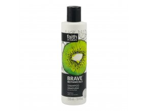 Faith in Nature Šampon Kiwi a Limeta, Brave 250 ml