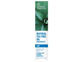 Desert Essence Zubní pasta tea tree a máta 176 g