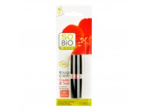SO´BIO Rtěnka 02 corail lumiere 4,5 g