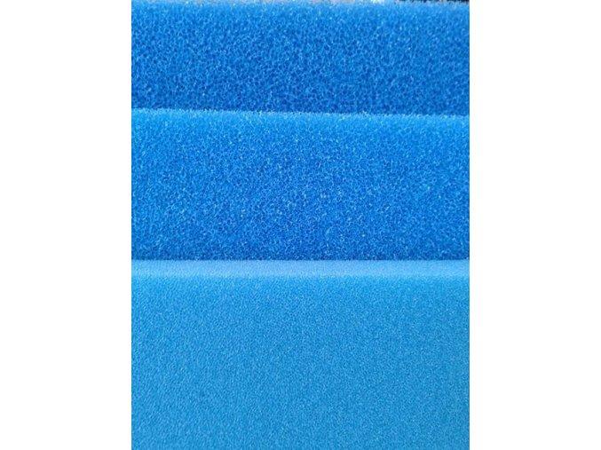 Filtrační pěna Bioakvacit PPI 10 hrubá, 1000x1000 mm