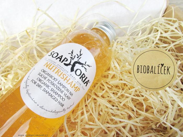 Růžový chroust: SOAPHORIA Nutrishamp Přírodní šampon na suché a poškozené vlasy
