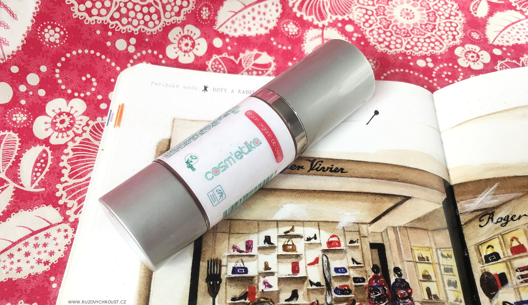 Růžový chroust: COSM'ETIKA BB krém se stříbrem a jojobovým olejem