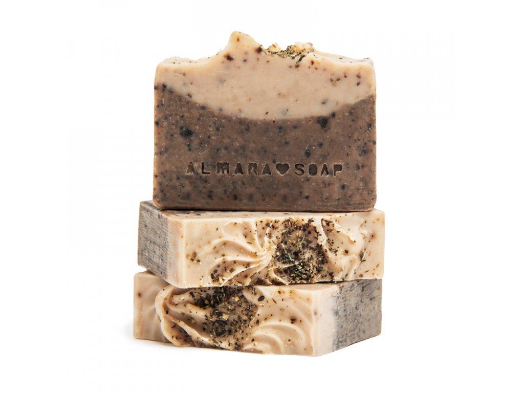 ALMARA SOAP Přírodní tuhý šampon Dry Hair 85 g