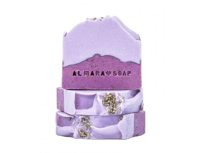 ALMARA SOAP Přírodní mýdlo Lavender Fields 100 g