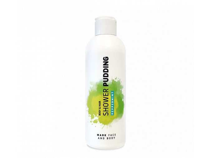 MARK Sprchový puding Peppermint 200 ml