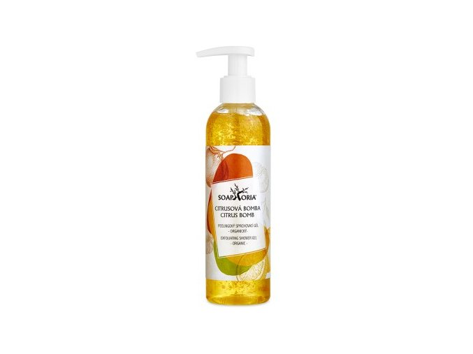 citrusova bomba sprchovaci gel