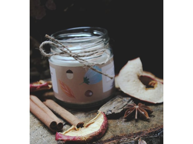 NA KOPEČKU Sójová svíčka Pečené jablko 150 ml