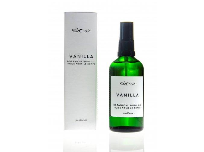 SOMA Vanilla Vanilkový olej s bergamotem 100 ml