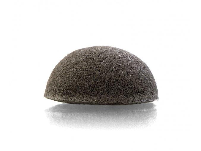 KONJAC Černá houbička s aktivním černým uhlím