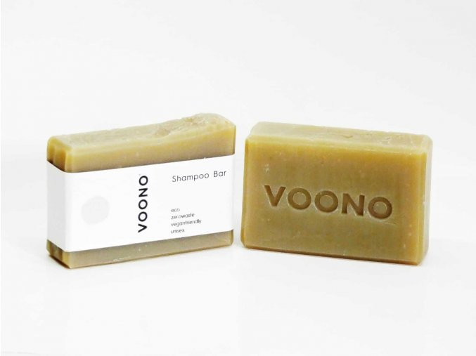 VOONO Kopřivový tuhý šampon 100 g