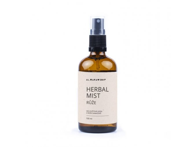 ALMARA SOAP Herbal mist Růže 100 ml