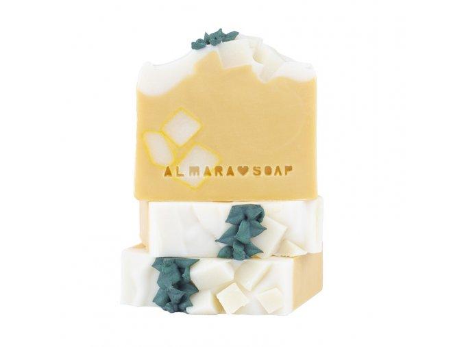 ALMARA SOAP Přírodní mýdlo Pina Colada 100 g