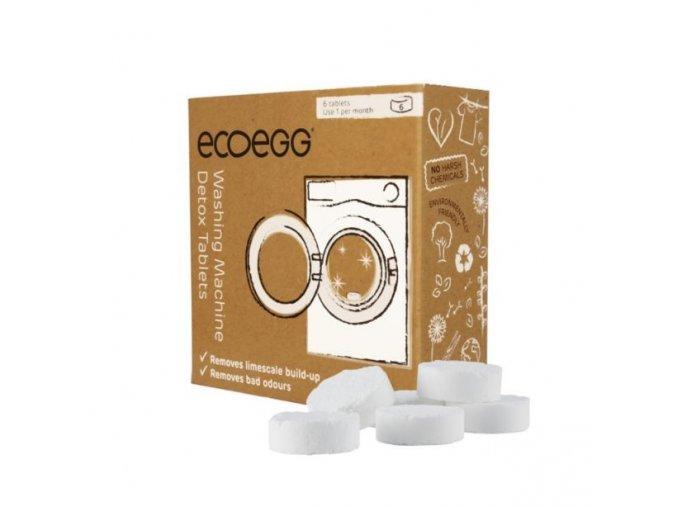 ECOEGG Detoxikační tablety do pračky 6 tablet