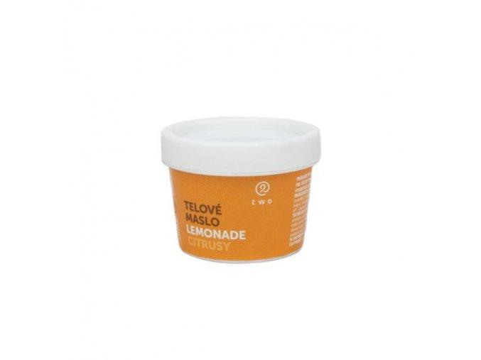TWO COSMETICS Tělové máslo LEMONADE 100 g - expirace 08/2021