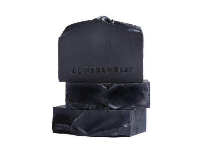 ALMARA SOAP Přírodní mýdlo Black As My Soul 90 g