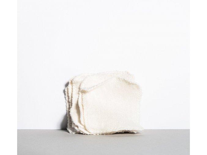 MYLO Odličovací tampony Biele kvety 7 ks