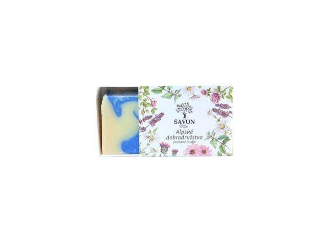 prirodni mydlo alpske dobrodruzstvi savon m