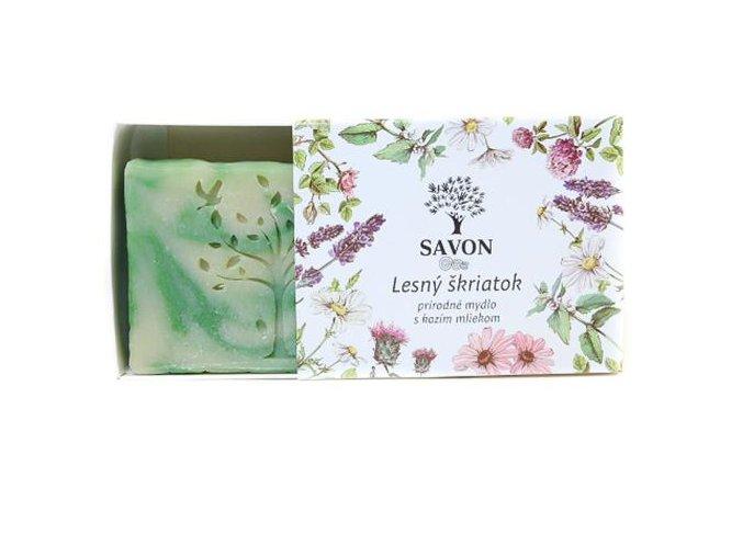 lesni skritek prirodni mydlo s kozim mlekem savon l
