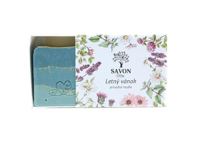 prirodni mydlo letni vanek savon l