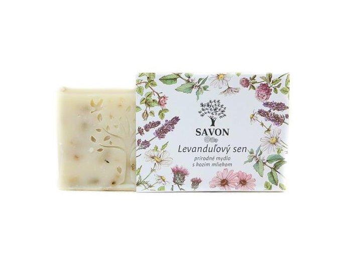 levandulovy sen prirodni mydlo s kozim mlekem savon l