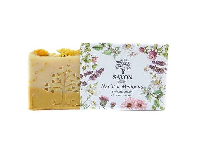 mesicek medunka prirodni mydlo s kozim mlekem savon l