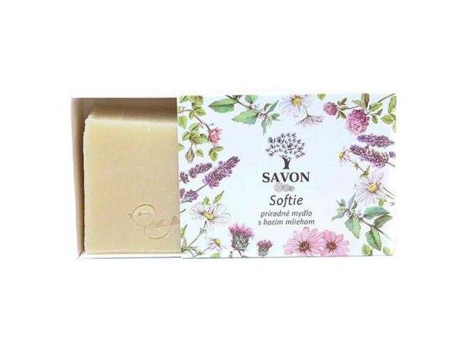 softie prirodni mydlo s kozim mlekem savon l