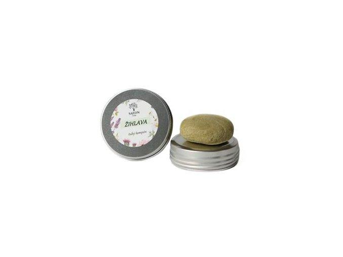 prirodni tuhy sampon kopriva 25 g hlinikova prenoska savon m