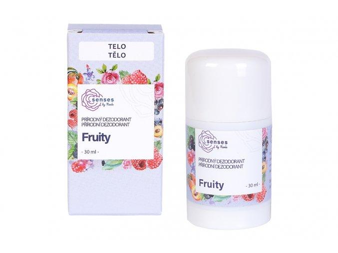 Prírodný dezodorant Fruity 30 ml