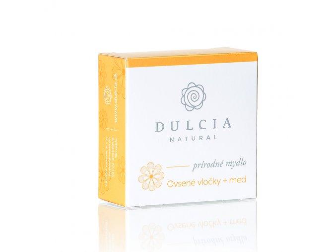 prirodni mydlo ovesne vlocky med