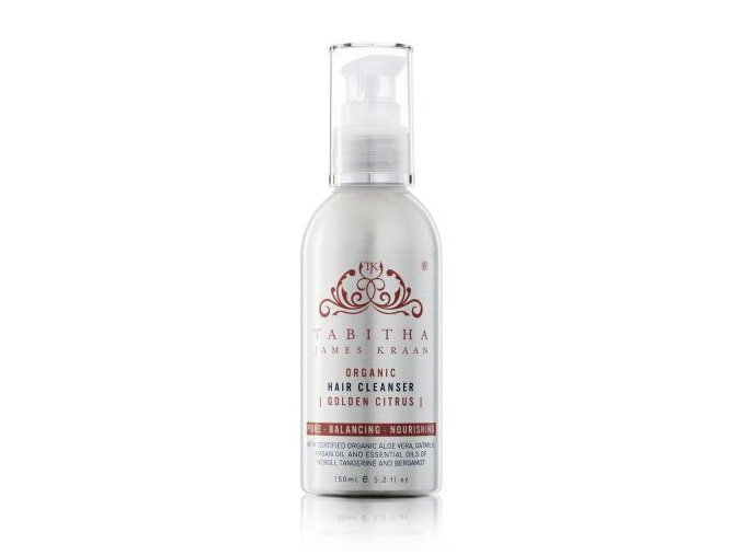 tabithajameskraan organic hair cleanser golden citrus 150ml